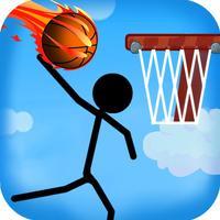 Stick Street Basketball - Stickman Basket Star Training Shooting Game
