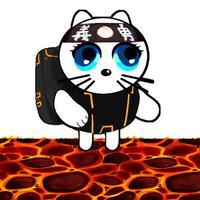 Kitty Ninja : the flying cat
