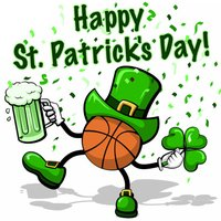 Basketball St. Pat's Stickers