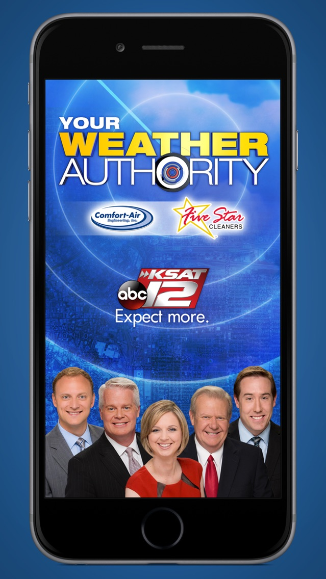 KSAT 12 Weather Authority App for iPhone - Free Download