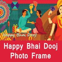 Happy Bhai Dooj Wishes Frame