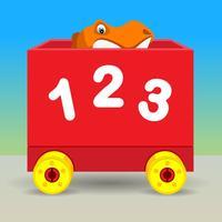 Number Train Kindergarten Maths