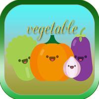 Vegetables ABC Kindergarten Vocabulary Beginning