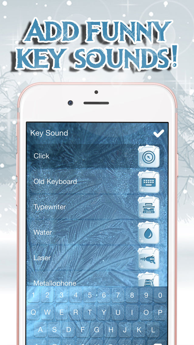 Frozen Keyboard Maker – Custom Keyboard Changer with Ice