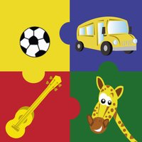Preschool Puzzles ( Educational learning games for preschool , toddlers and kindergarten kids to learn music instruments, animals, vehicles, shapes and sports )