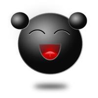 Black Emoticon