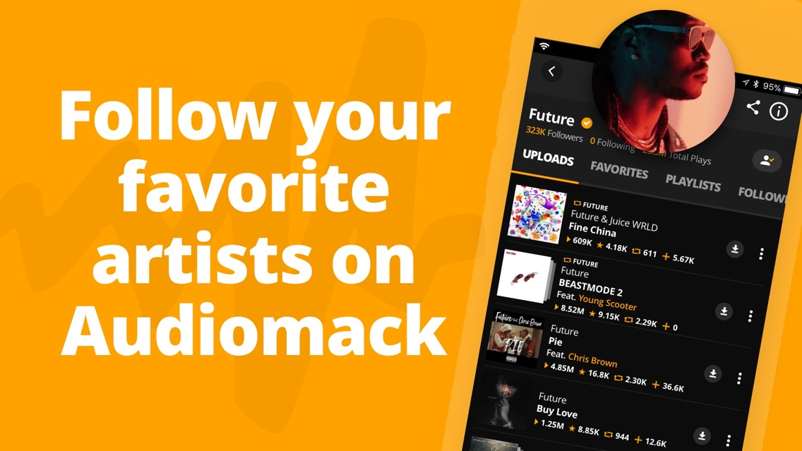 Audiomack | Offline New Music App for iPhone - Free Download