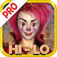 """""""A+"""" Evil Carnival HiLo Solitaire Best Classic Social Real Fun Cards Game With Friends Pro"""
