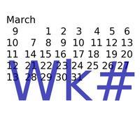 Week #s