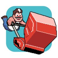 Mighty Mower – the retro 8 bit game adventure of extreme mowing