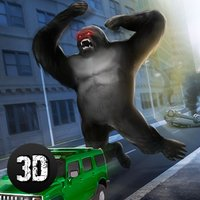 Gorilla Rampage Attack: Destroy City Full