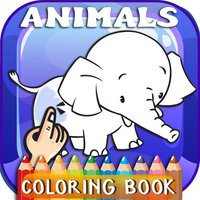 Animals ABC Coloring Book Free For Toddlers & Kids