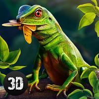 Wild Forest Lizard Simulator