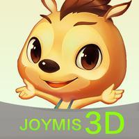 袋鼠跳跳3D书-育儿3D动画乐园,益智故事绘本科普大全