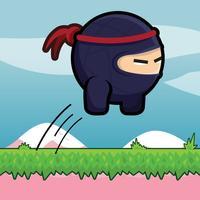 Ninja Leap: Jump up Carefully