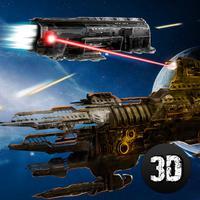 Spaceship Fighting Battle Wars 3D Full