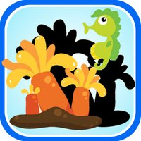 Ocean Animal Vocabulary Learning Puzzle Game
