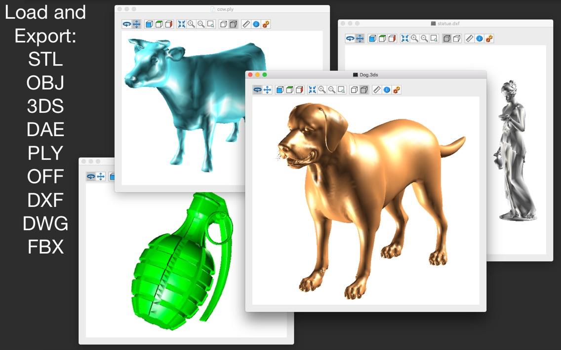 Open 3d model viewer free stl viewer for windows.
