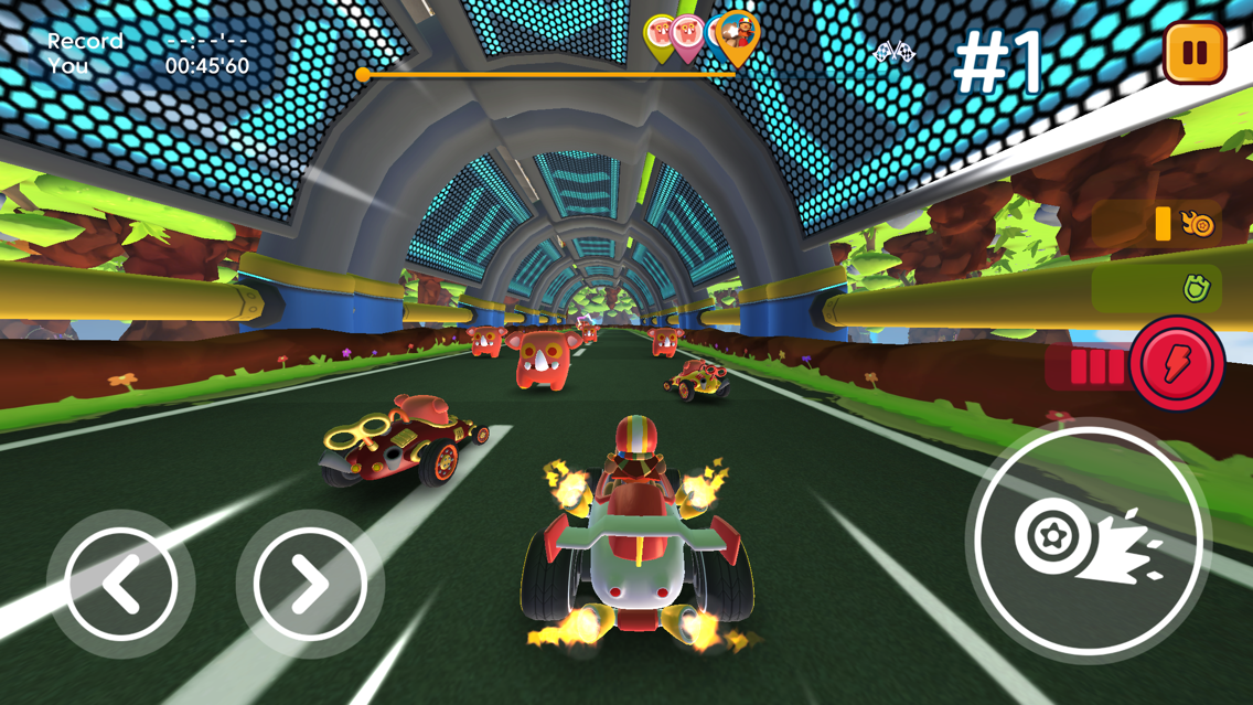 Starlit On Wheels: Super Kart App for iPhone - Free Download Starlit