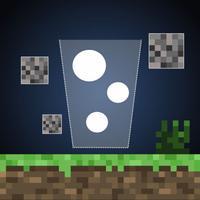 Mine Pong Physics Game - 100 Crafty Balls Challenge