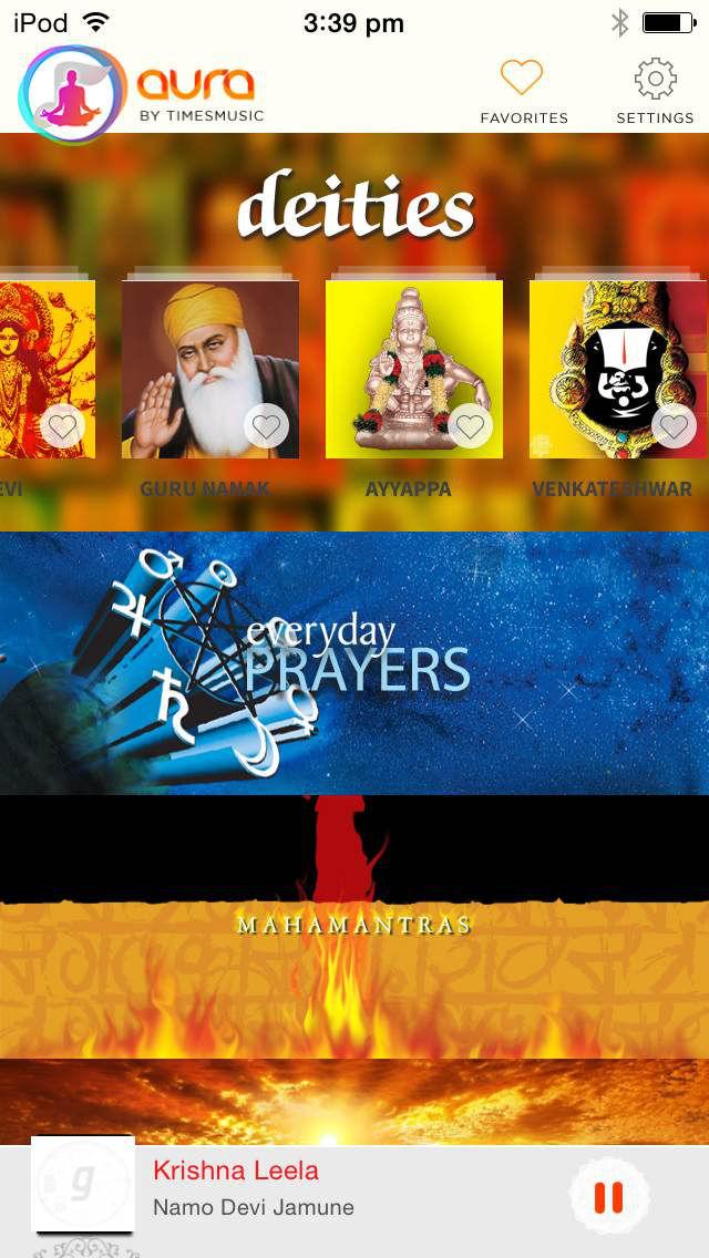 Aura Radio - Hindi Devotional, Relaxing, Motivational, Bhajans