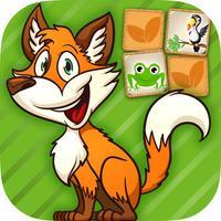 Animal pairs games - brain training