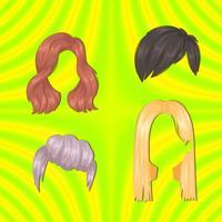 Hairstyles - Sticker Pack