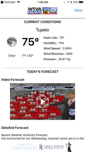WTVA/WLOV News & Weather App for iPhone - Free Download WTVA