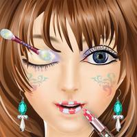 Fashion Celebrity Makeup Beauty Salon Games for Girls