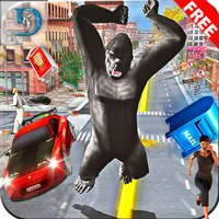 Giant Gorilla City Attack