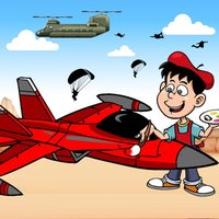 Airplanes Jet Helicopter Coloring Book For Kids