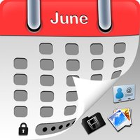 MyCalendar TopSecrete Free - Hide and lock private photo,video and secret info + protected by BirthDay Calendar