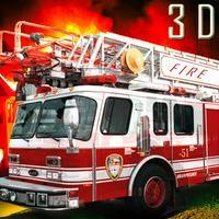 Fire Truck Rescue Services Simulator 2016