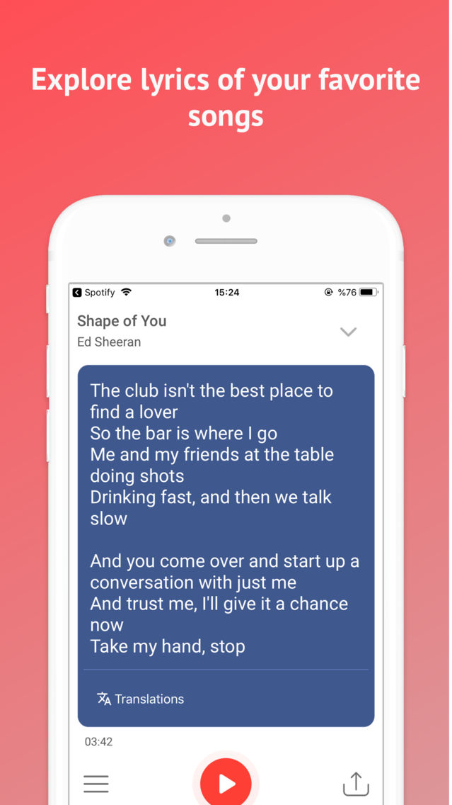 Searchify: Find Songs & Lyrics App for iPhone - Free