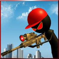 Angry Stick Sniper Gun Shooter