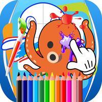 Paint Kids Octopus Edition