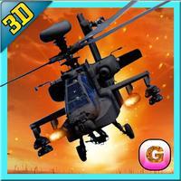 Stealth Helicopter Gunship War – Modern air counter strike navy fighter game