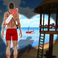 Beach Life Guard Simulator : Coast Emergency Rescue & Life Saving Simulation Game