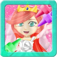 Princess Wedding Coloring World -  My Paint, Color and Draw Frozen Fairy Tail Magic For Girls FREE