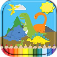 Coloring Book Dinosaurs  Games For Kids
