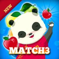 Panda Fruit Harvest Free Match 3
