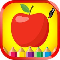 Fruits and Vegetable Coloring book For Children
