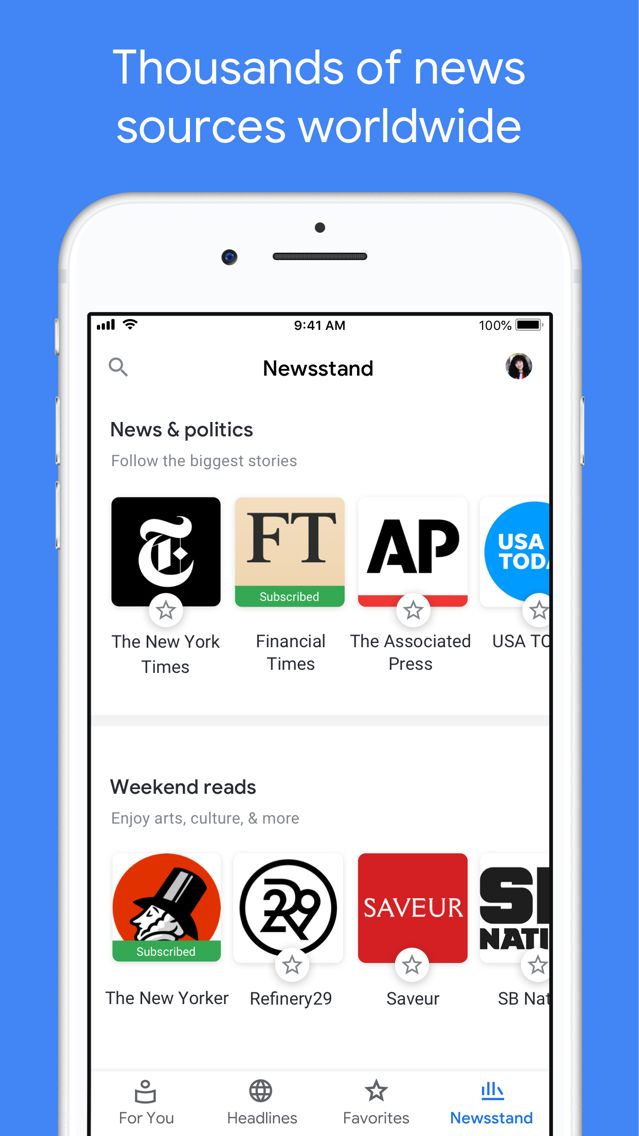 Google News App for iPhone - Free Download Google News for