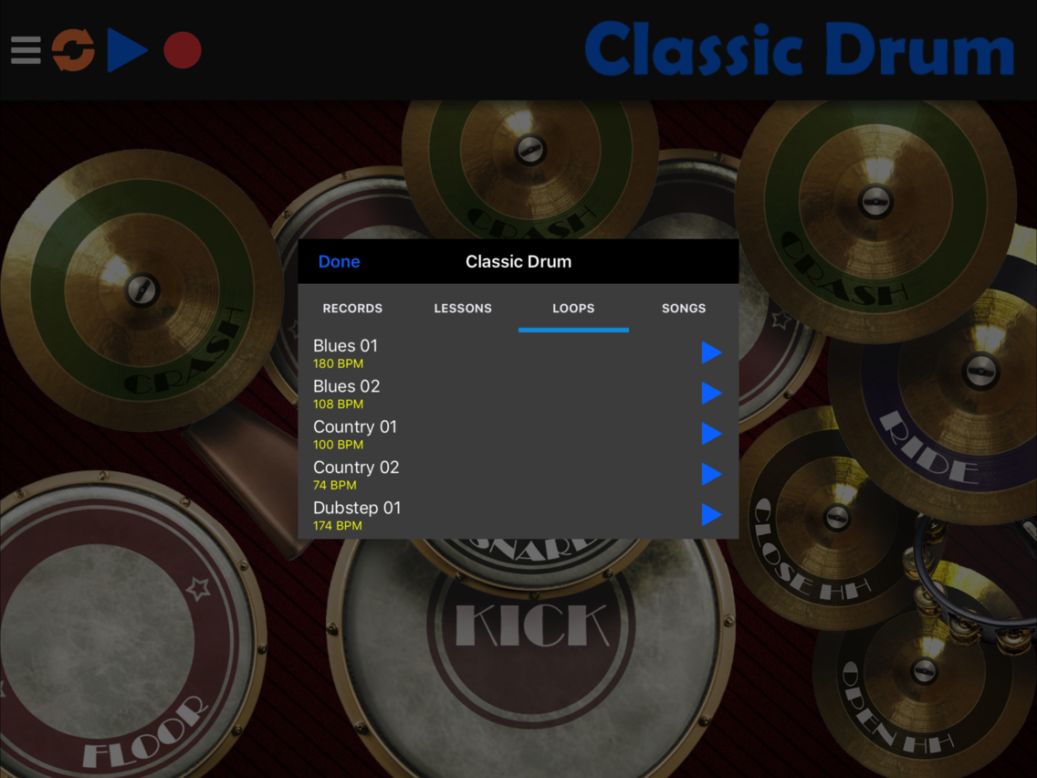 Classic Drum App for iPhone - Free Download Classic Drum for