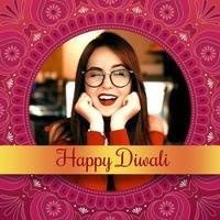 Diwali Photo Frames - Editor