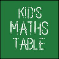 Kids Maths Table