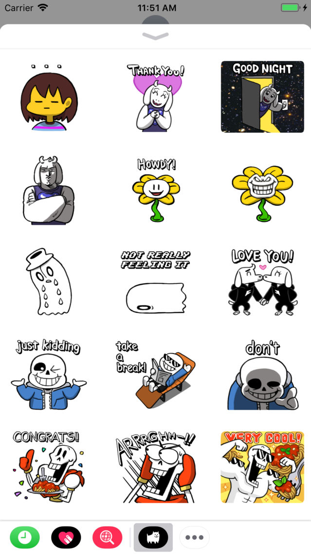 Undertale Stickers App For Iphone Free Download Undertale Stickers For Ipad Iphone At Apppure