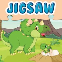 Jurassic Dinosaurs Jigsaw Puzzle - Planet Dinos Educational Puzzles Games to Help Kids and Kindergartens Learn