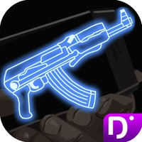 Neon Gun Shooter Weapon
