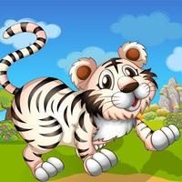 A Super Tiny Tiger Run World Adventure Free Game